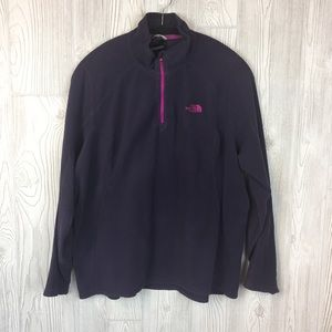 The North Face Polartec Classic 1/4 ZIP Sz XL